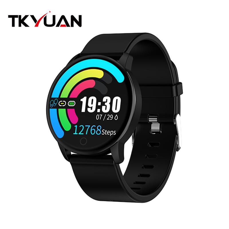 Bluetooth Smart Watch Blood Pressure Heart Rate Monitor Sport Smartwatch Fitness Tracker Bracelet