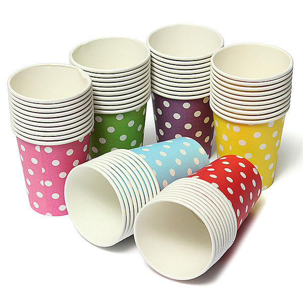 9oz Single Wall Paper Cup for Hot Coffee