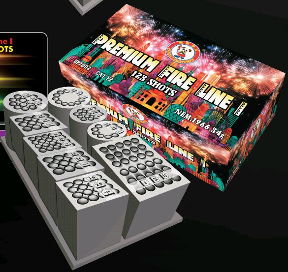 2017 PANDA COMPOUND CAKE FIREWORKS
