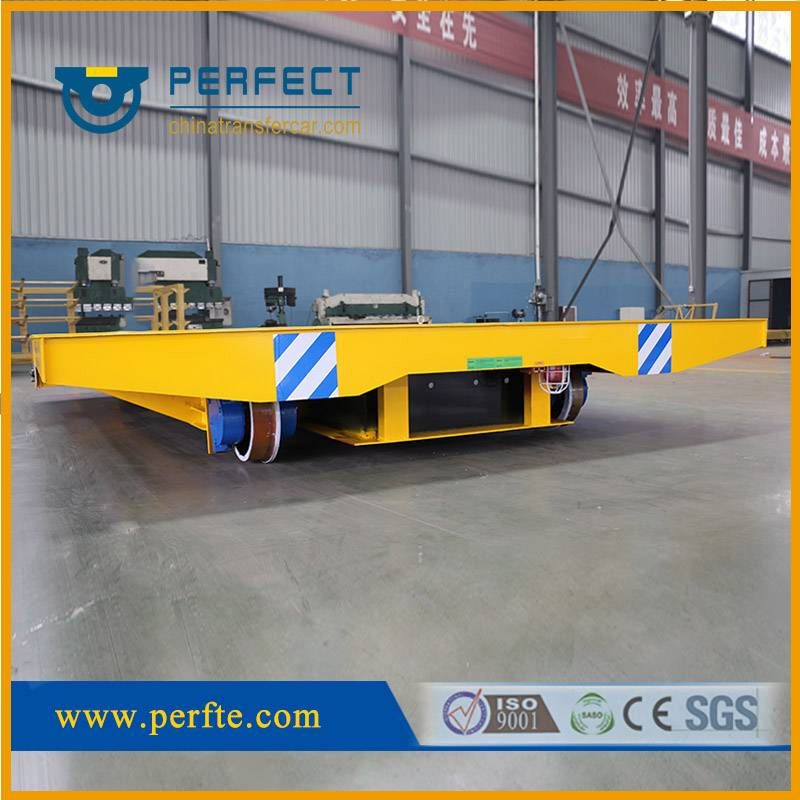 Handling Transfer Electric Bogie, Heavy Load Steel Structure Transport Cart