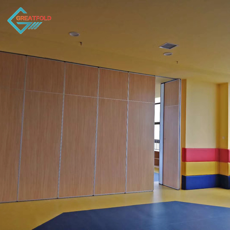 Custom Made Building Design Decorative Panel Restaurant Movable Partition Wall