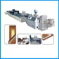 PVC Window Sill Production Line/WPC Window sill extrusion machine