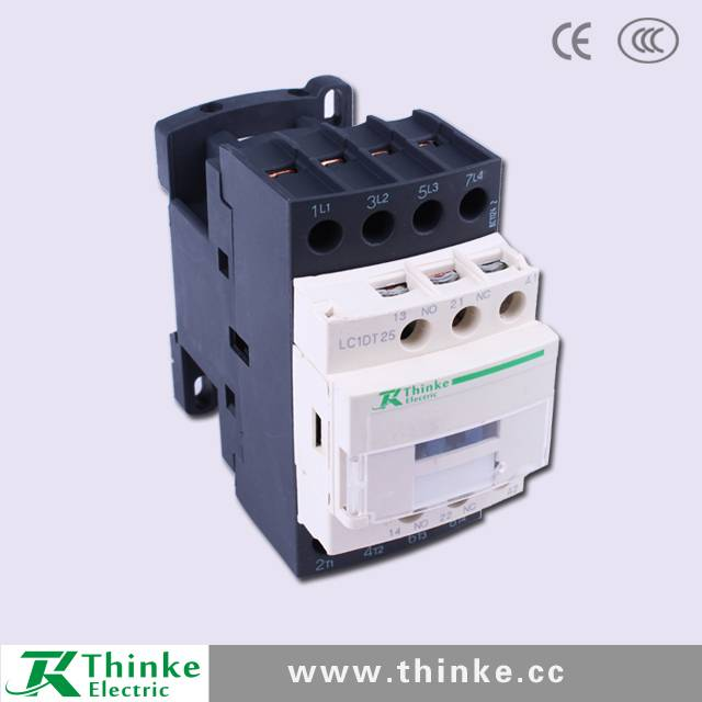 4 Pole LC1DT25 Telemechanic Electric Contactor
