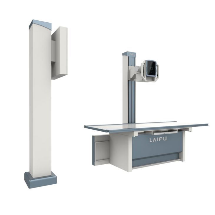 Stationary Dual Stands X Ray Digital Radiography Systems