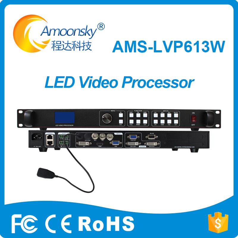 amoonsky lvp613w dvi led controller led wifi led video processor flexible led display and led screen