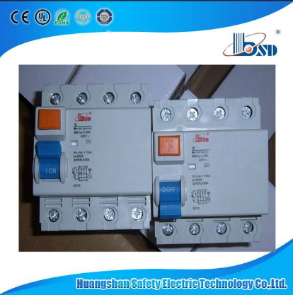 ID Electromagnetic Earth Leakage Circuit Breaker RCCB, ID RCCB 63A, CE