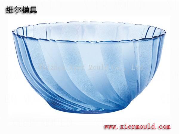 Transparent plate mould