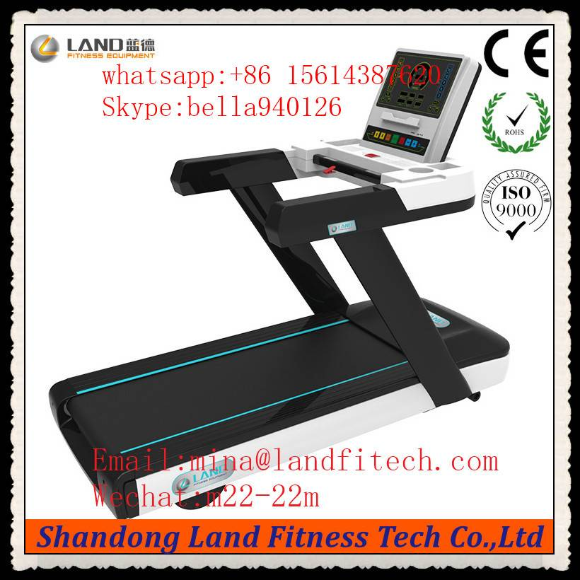 Hot Sale Treadmill with 21.5inches LCD Screen Gym Equipment Commercial Electric Treadmil