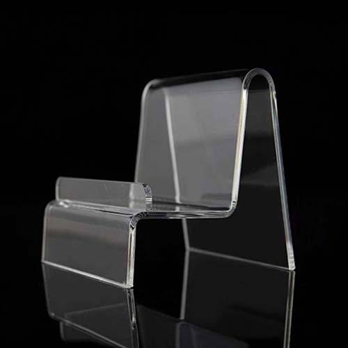 Factory Supply Transparent Floor Display Bag Acrylic Stand /Holder