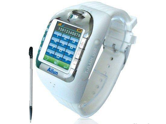 Fashion Touch Screen Watch Cellphone