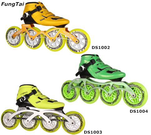 Men Roller Inline Skate Shoes With 110mm Speed Wheels (DS1002-1004)