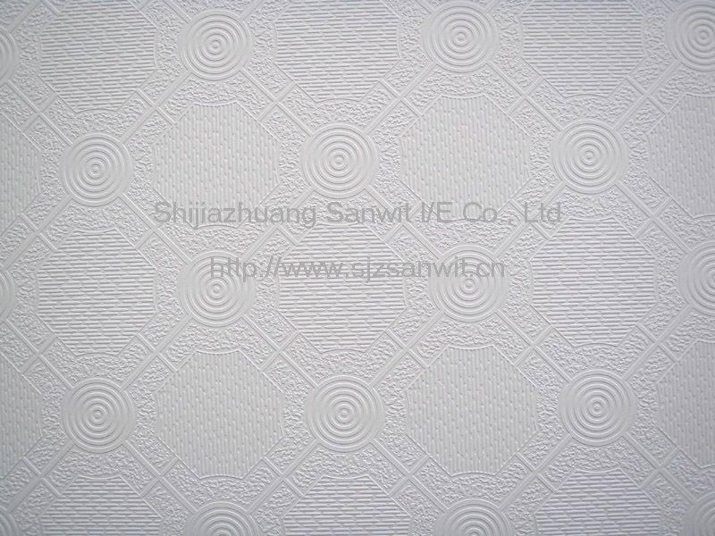 vinyl coated gypsum ceiling