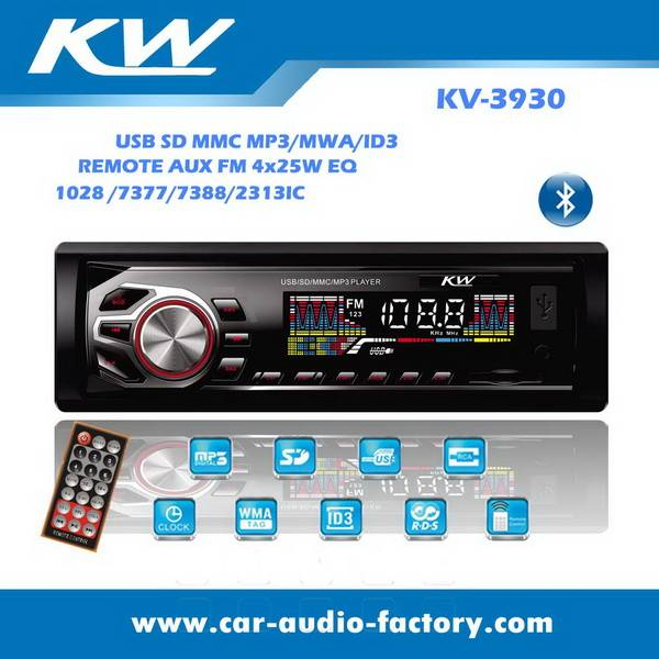 KV3930 Car MP3 player with USB/SD/MMC port