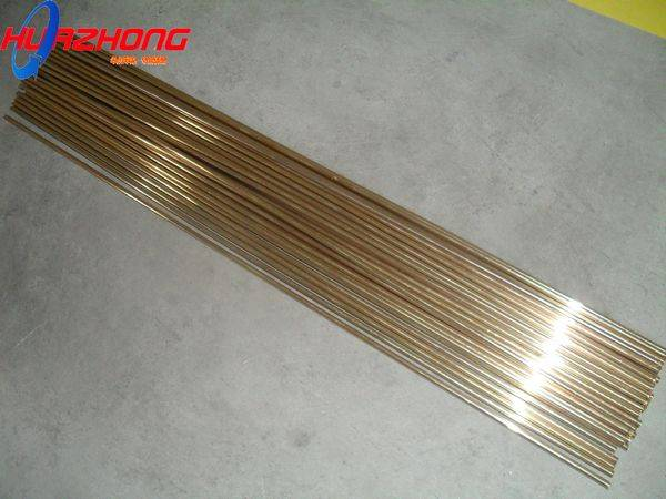 cadmium-bearing low silver brazing welding alloy rod