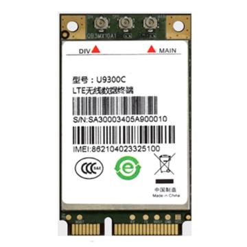 U9300C LTE WCDMA TD SCDMA CAT4 mini Pcie