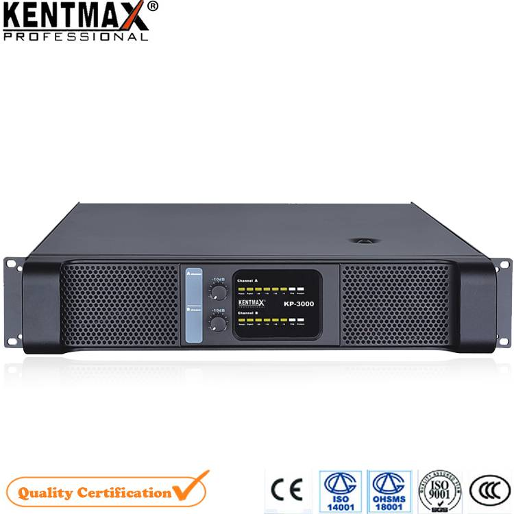 Excellect quality 1300 Watt 2 Channel Professional Stereo Power Amplifier