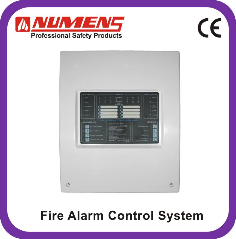 Numens 4001-03 8-zone Non-addressble Fire Alarm Control Panel