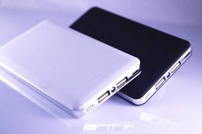 8000mAh Dual USB Ultra-Compact Portable Charger Backup External Battery Power Bank
