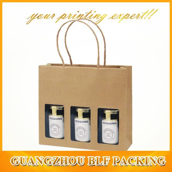 brown kraft paper bag wholesale(BLF-PB024)