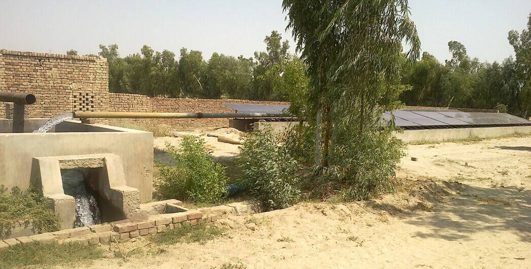 3.7kw Solar Water Pumping System