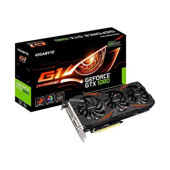Gigabyte GeForce GTX 1080 G1 Gaming 8G Graphics Cards