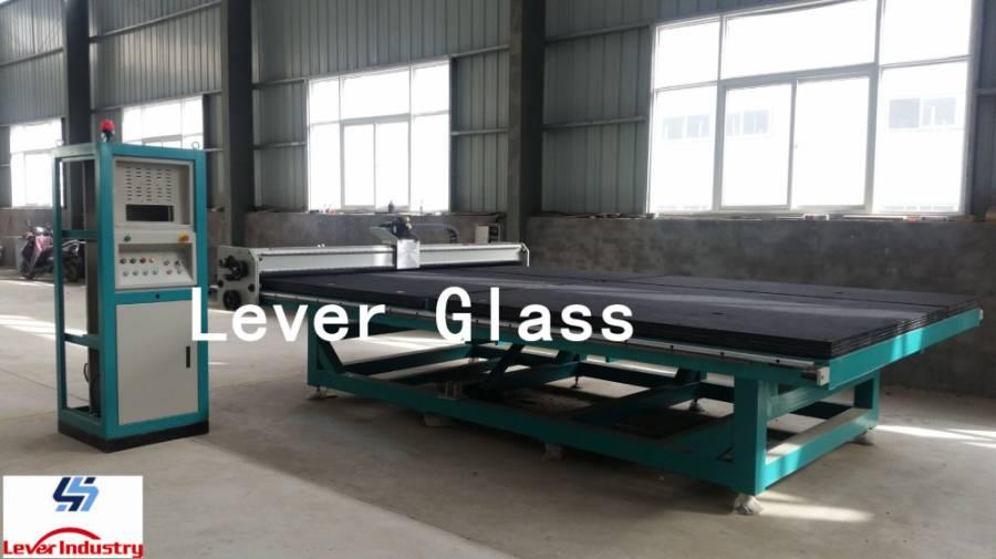 Tilting CNC Glass Cutting Machine