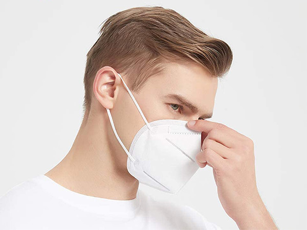 KN95 Mask Disposable Face Mask 5 Layer 95 Nonwoven Face Shields with Earloop
