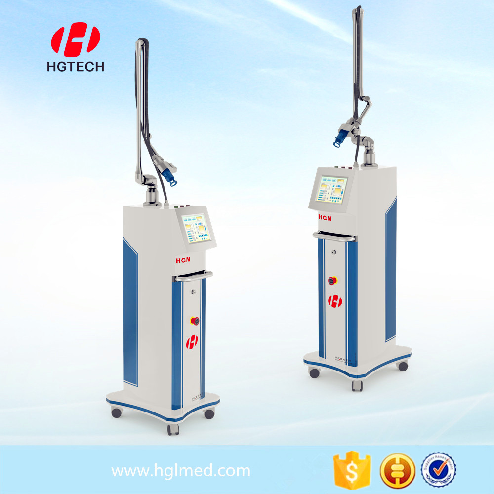 The most modern device fractional co2 laser skin resurfacing machine for spot removal