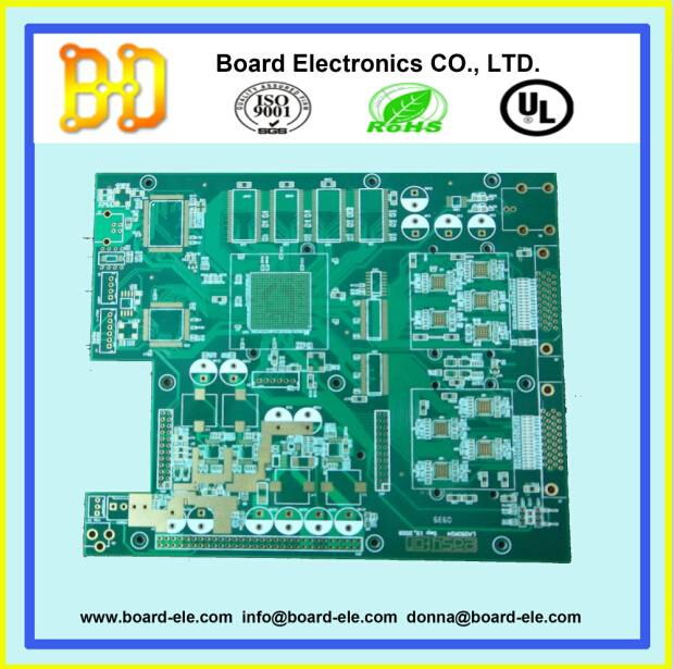 4 layer pcb multilayer pcb with hasl lead free surface