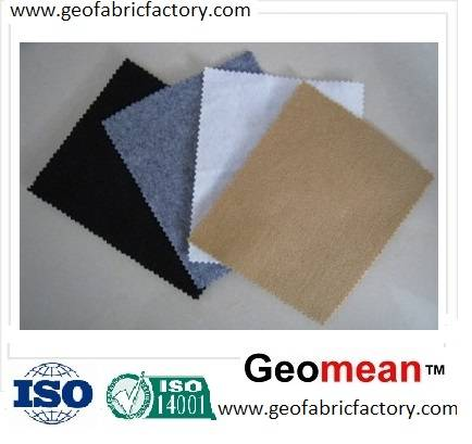 200gsm Filament PET/PP spunbonded needled punched non woven geotextile fabric