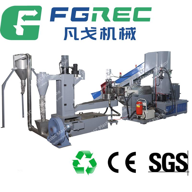PP woven bag recycling machine / Plastic pellet machine