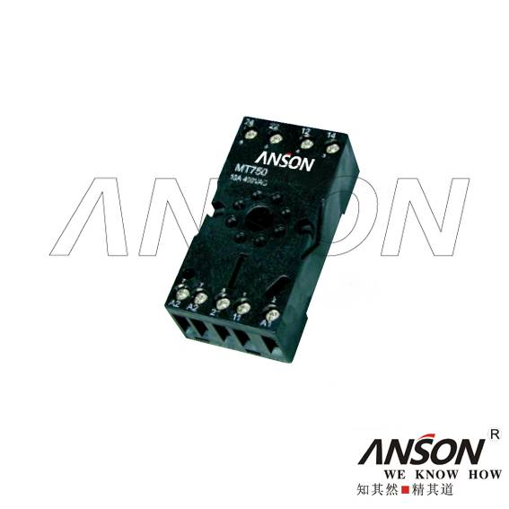 MT740-2Z Relay Sockets
