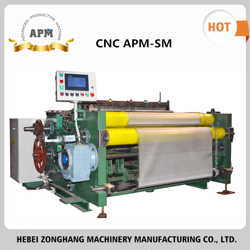 APM Stainless Steel Wire Mesh Weaving Machine