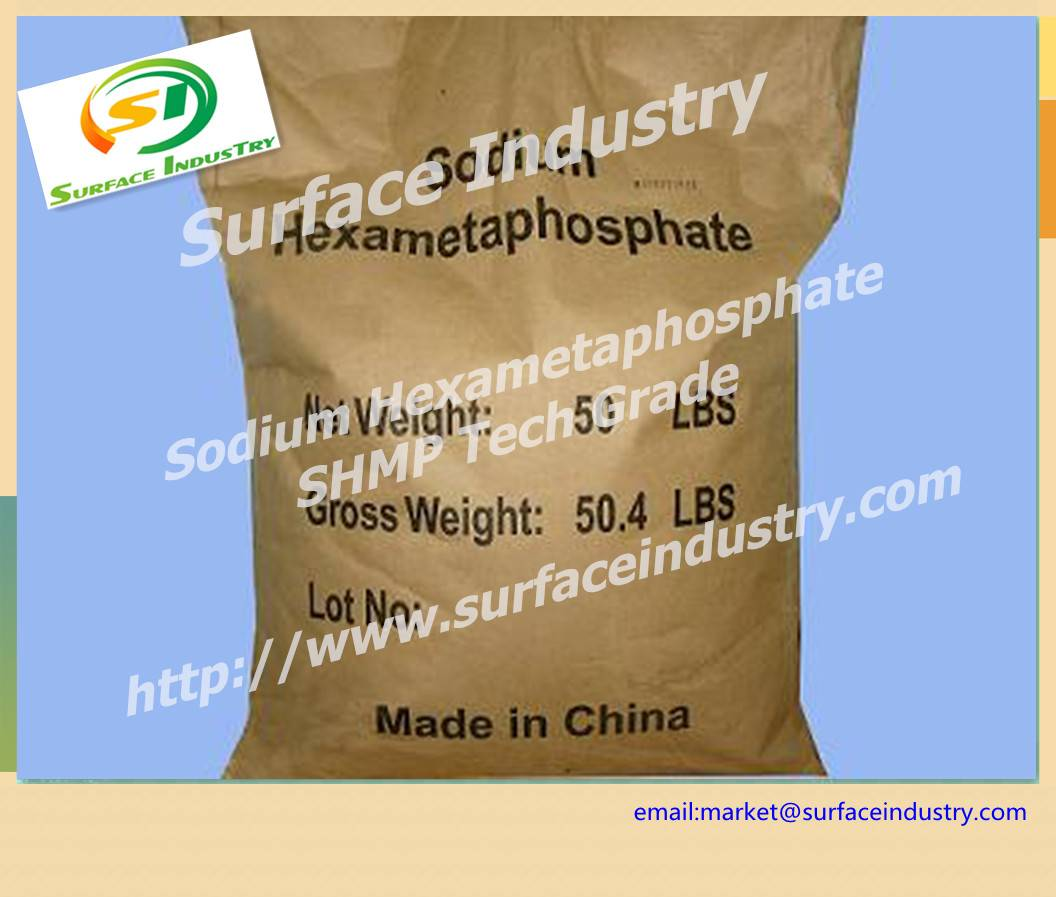 Sodium Hexametaphosphate 68.0%,SHMP for Detergent Industry
