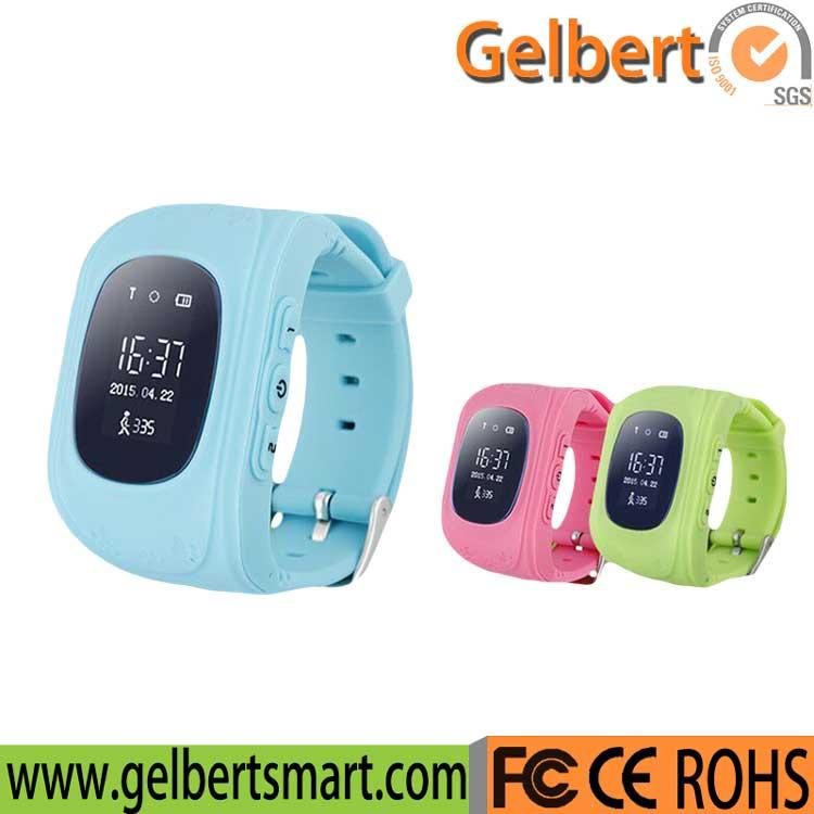 Gelbert Kids Q50 GPS Smart Watch for Android Ios