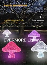 Motif lighting Pastel mushroom