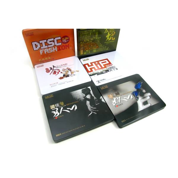 disposable cd tin case holder
