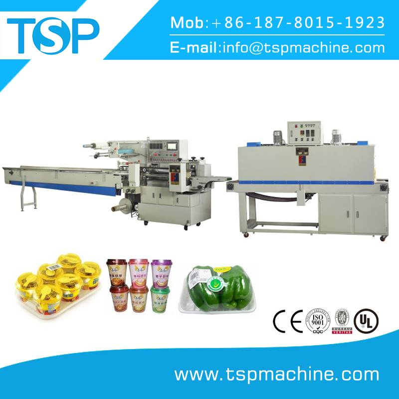 Automatic packing machinery jelly cup shrink sleeve machine manufacturer