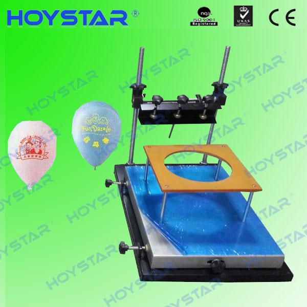 desktop balloon manual silk screen printing machine