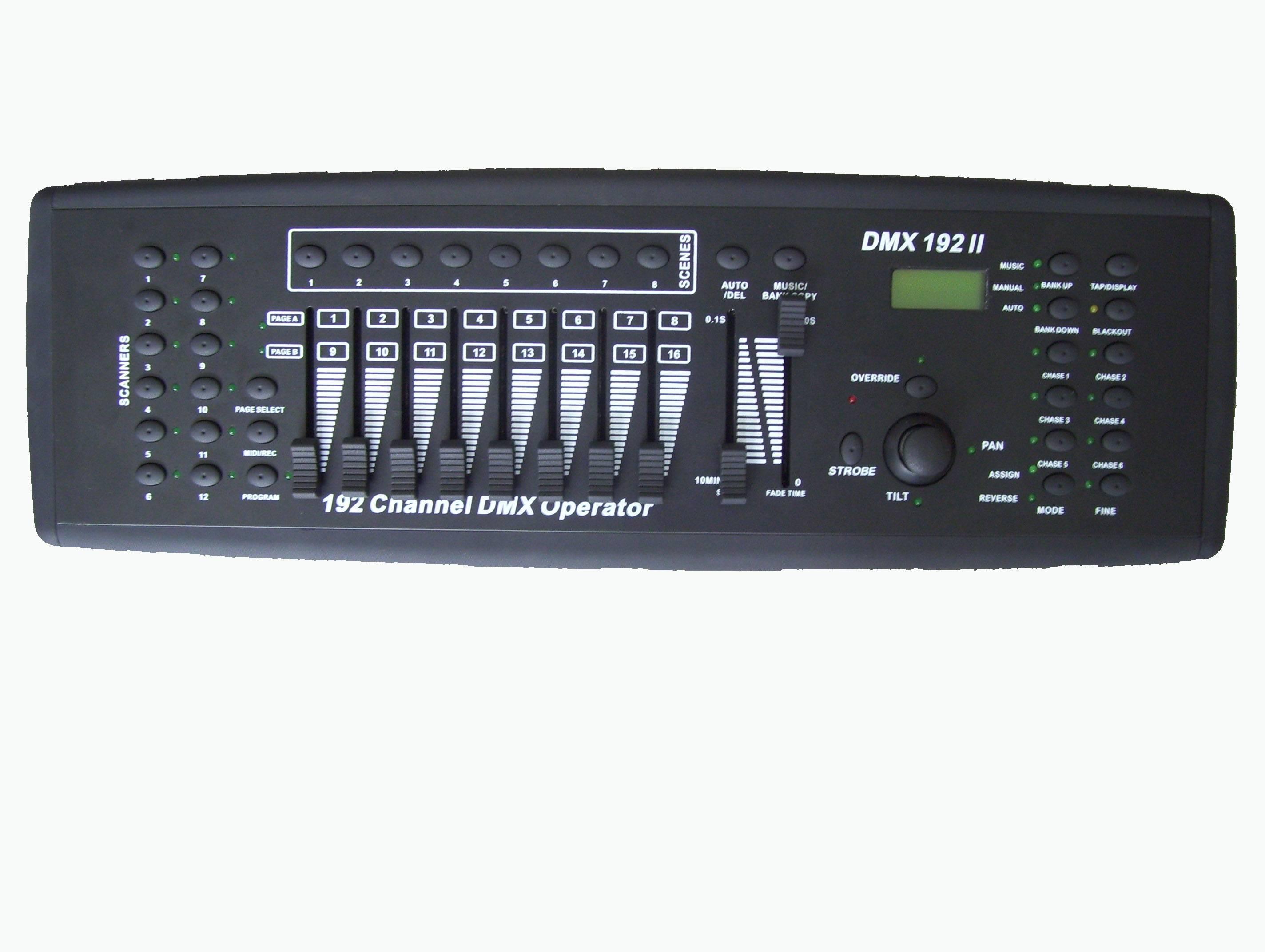 192ch DMX controller (with joystick) DC-1216J