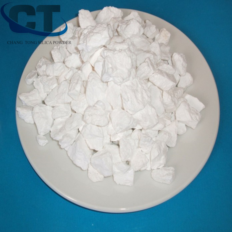 white calcination cristobalite shrink roasted silica for casting