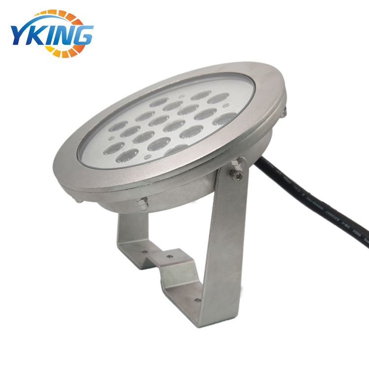 316L Stainless Steel 54W RGB LED Underwater Spot Lights