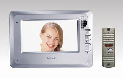 7 inch color TFT  video door phone kit (MC-522R5 kit)