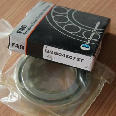FAG BEARING BSB045075-T angular contact ball bearing 45×75×15