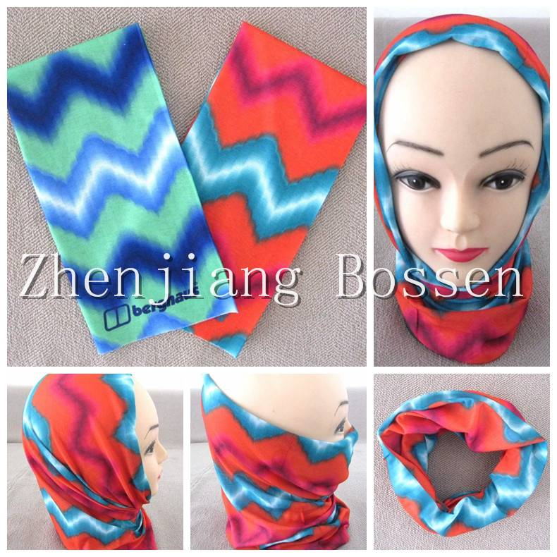 High elastic seamless magic multifunctional bandana tubular scarf tube bandana