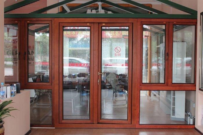 2017 new type Aluminium casement door