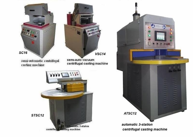 semi automatic centrifugal casting machines