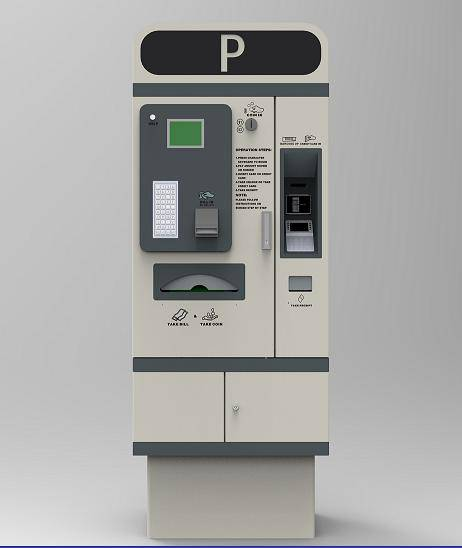 High quality fee collection parking payment kiosk