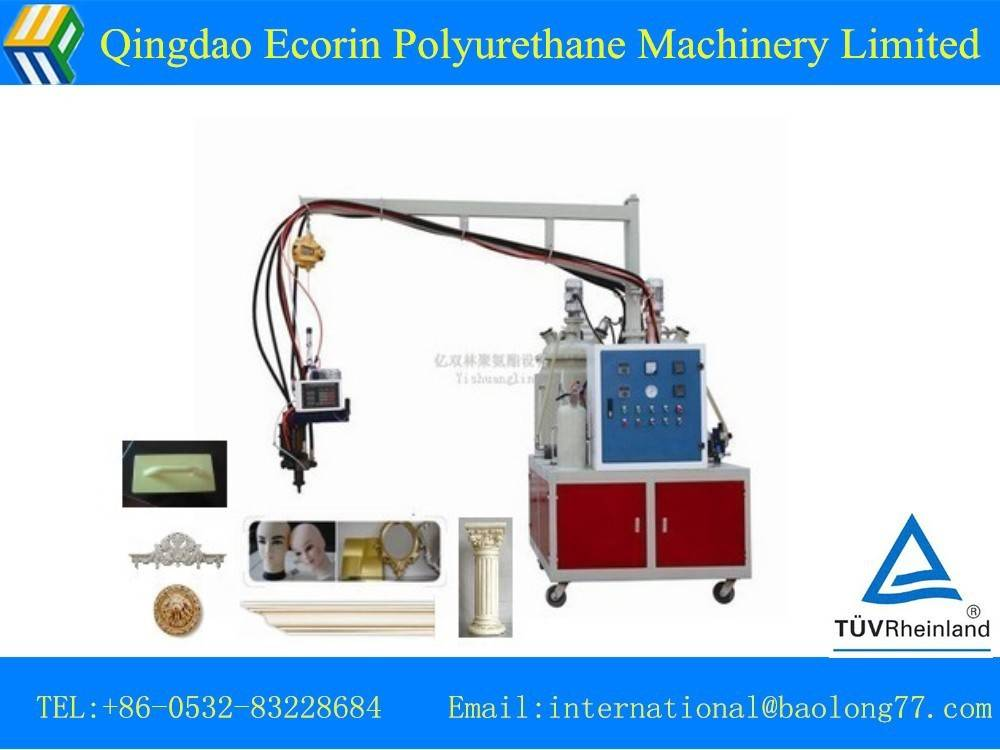 low pressure polyurethane foam machine for imitation wood