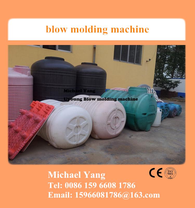 max 5000l tank blow molding machine